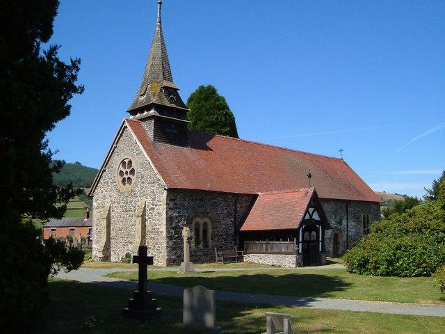 Church of St Garmon , Llanfechain