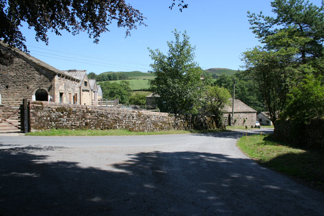 Farm buildings at Flasby