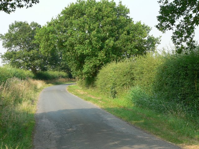 The Road from Wressle to Foggathorpe