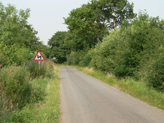 The Road from Wressle to Foggathorpe