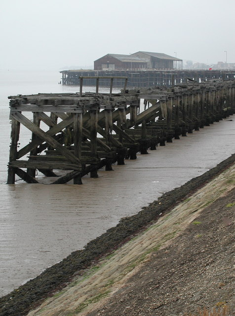 Riverside wharves at Alexandra Dock, Hull