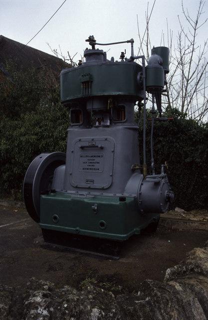 Steam engine, Purton Village Hall