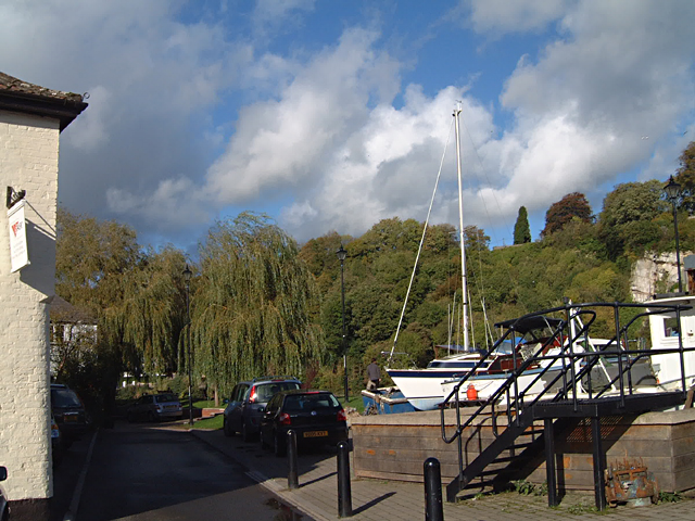 Chepstow - The Back Dry Dock