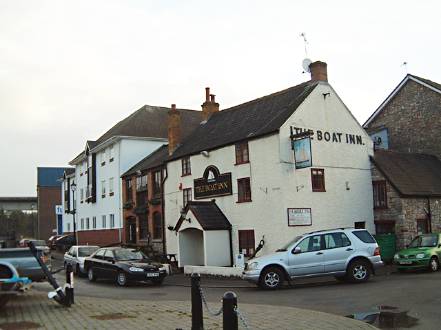 Chepstow - The Boat Inn on The Back