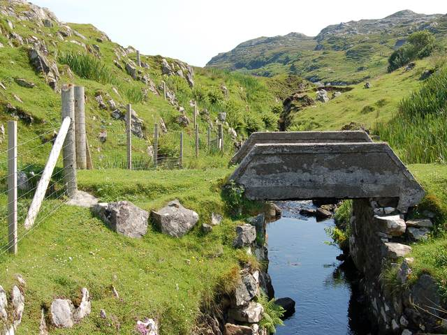 Private bridge at Ghreosabhagh