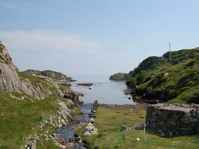 The head of Loch Chollaim