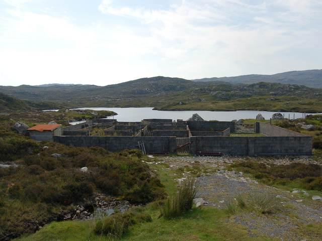 Sheepfold by Loch a' Mhonaidh