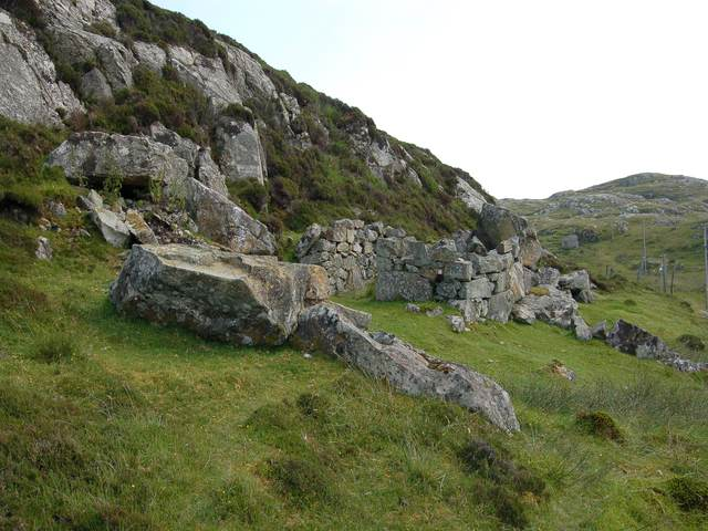 Old building at Scadabhagh