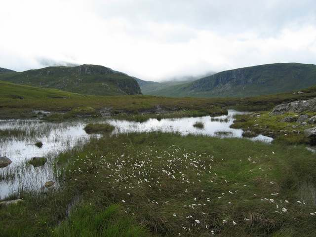 Boggy ground in North Harris