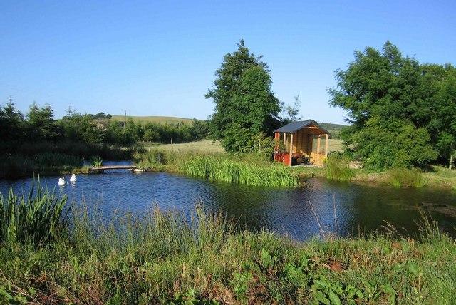 Goose pond near Whitecairns
