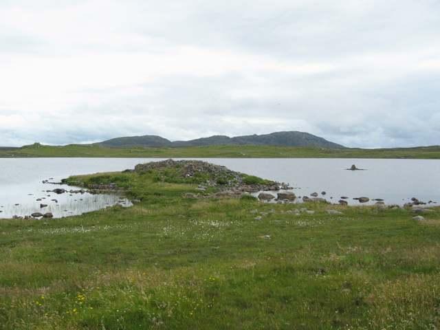 Broch in Loch an Duna