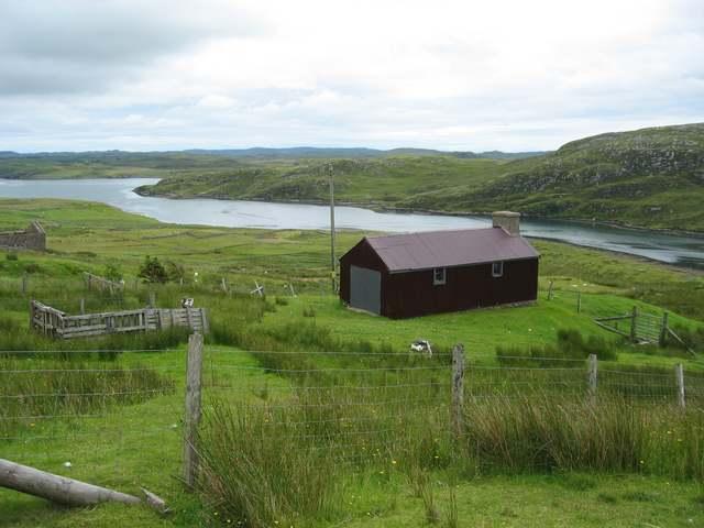 Crofting land at Baile Ailean