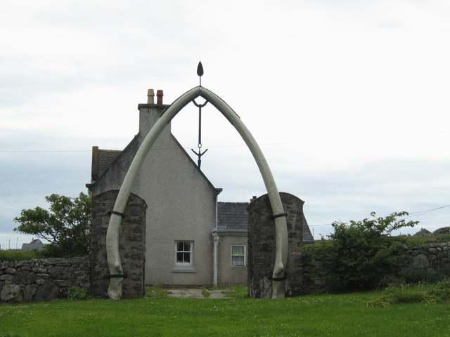 Bragar Whalebone Arch