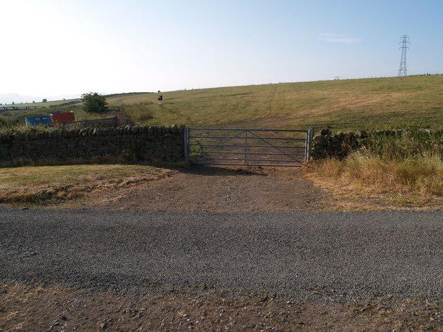 Farmland near Broomley Fell