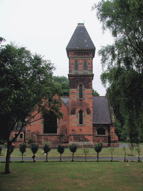 Crematorium at Hedon Road Cemetery, Hull