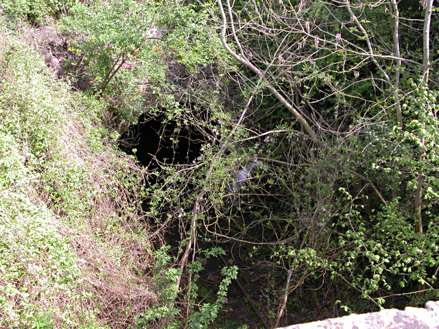 Disused Railway Tunnel Entrance at Netherhope