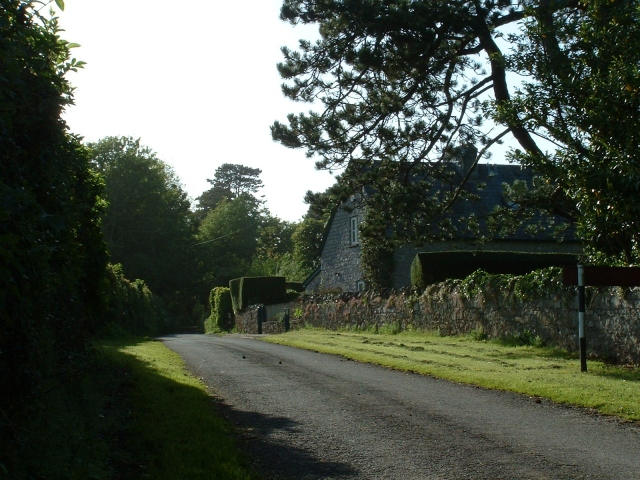 Lane and Cottage near Court