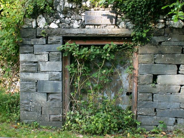 Dinorwig Quarry Inscription