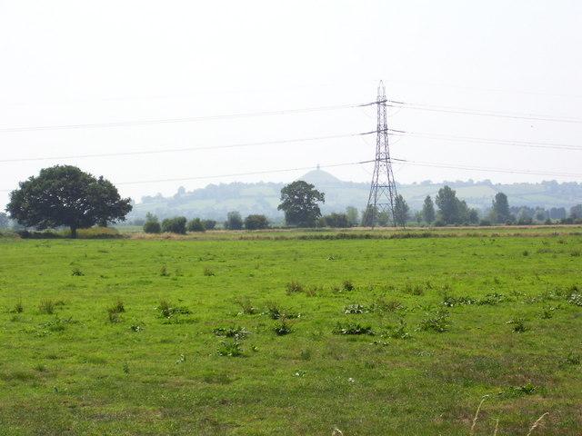 Across Queen's Sedge Moor to Glastonbury Tor