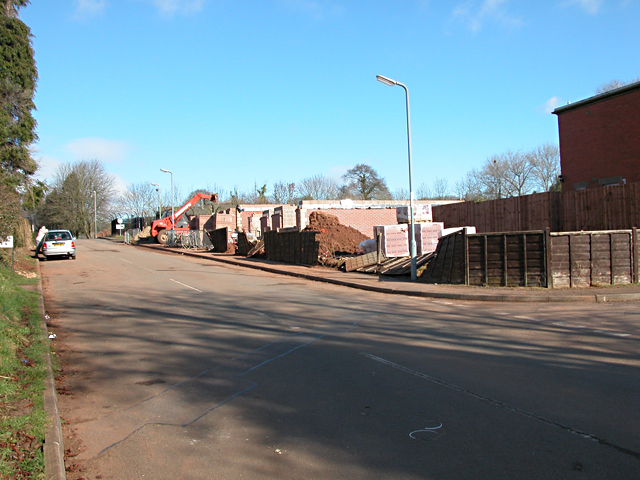Caerwent - Houses Under Construction