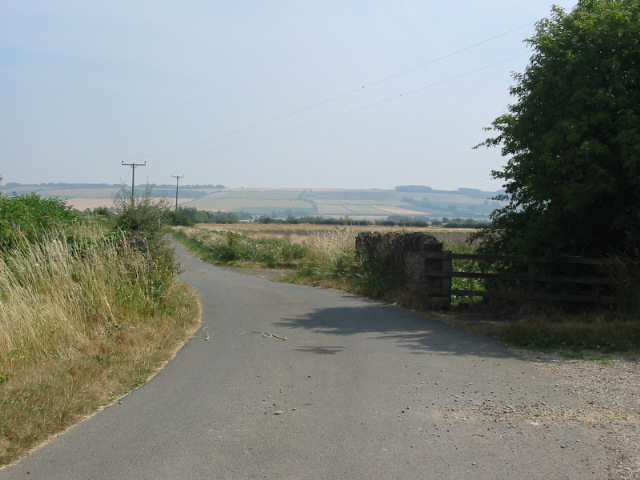Ings Bridge with the Yorkshire Wolds in the background