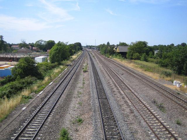 Yiewsley: Main line railway