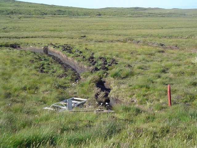 Moorland and Drying Peats