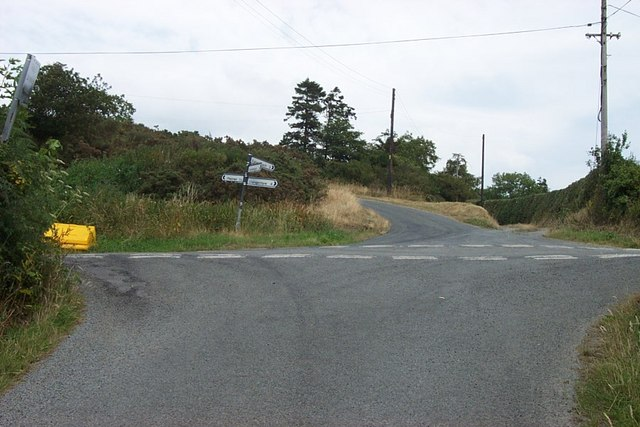 Crossroads North of Llanddoged