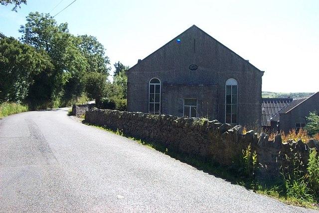 Chapel near Bryn y maen