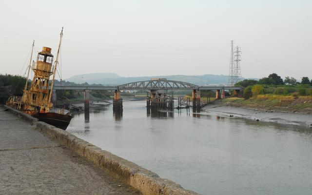 Swingbridge over the River Neath