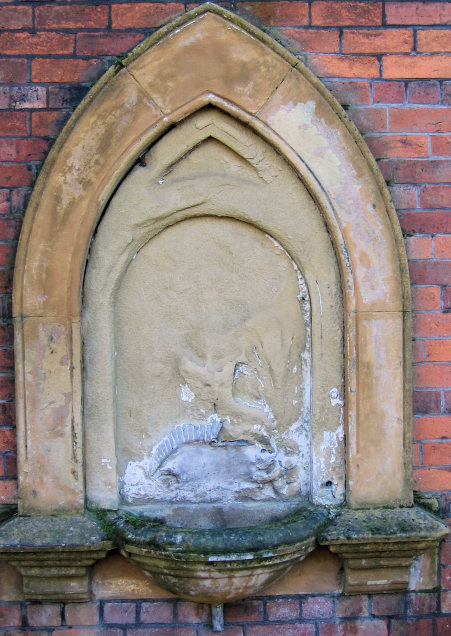 Drinking fountain (disused)
