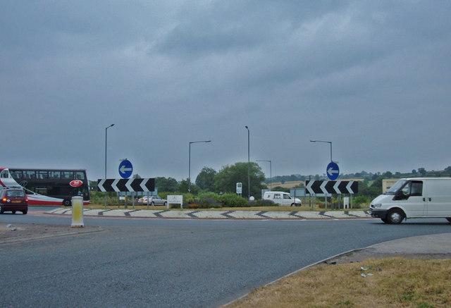 Roundabout, A61/A658
