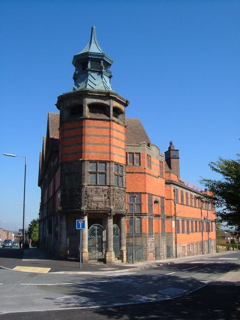 Everton library from the south