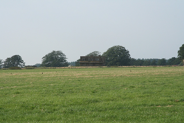 Churchstanton: old airfield control tower