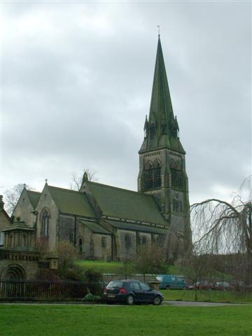 Edensor Church