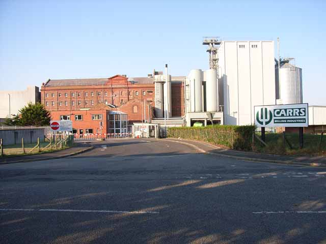 Carr's flour mill, Silloth