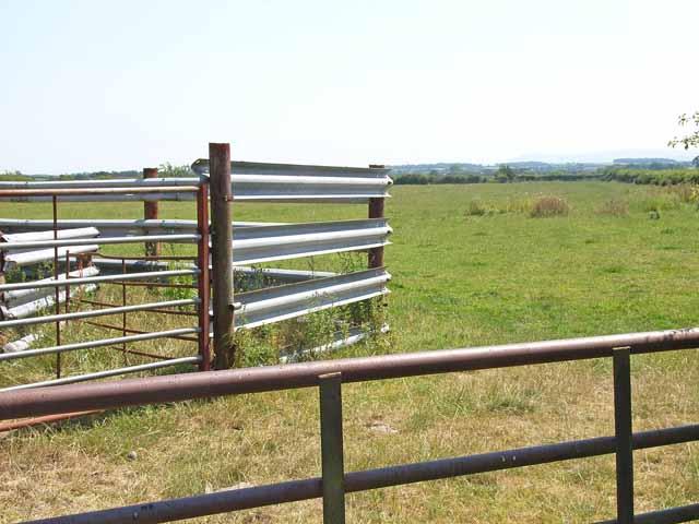 Livestock pen at Boustead Hill