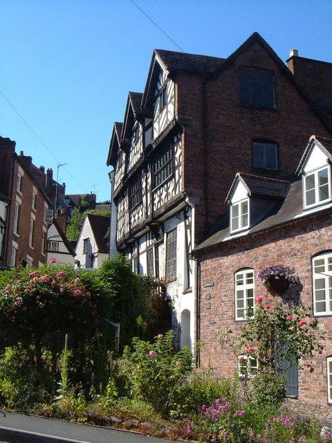 Bridgnorth: Bishop Percy's House and Cartway