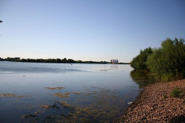Girton sailing lake