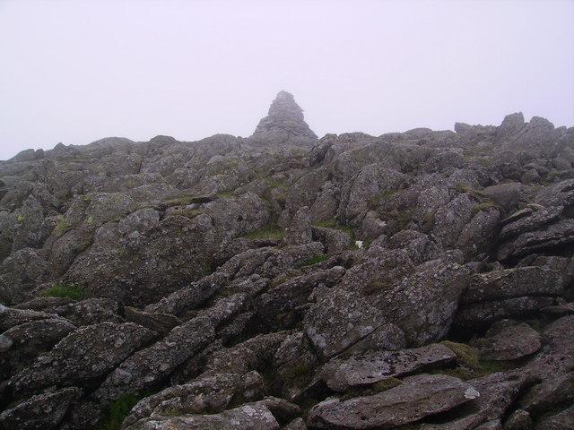 Summit Cairn Hart Crag