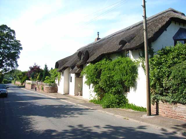 Thatched cottage at Brisco