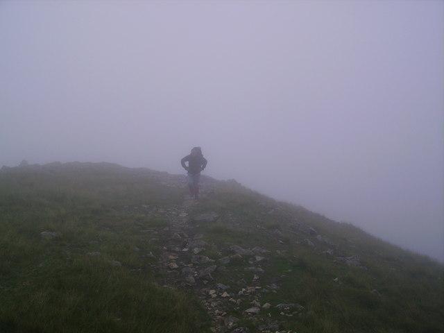 Approaching Hart Crag