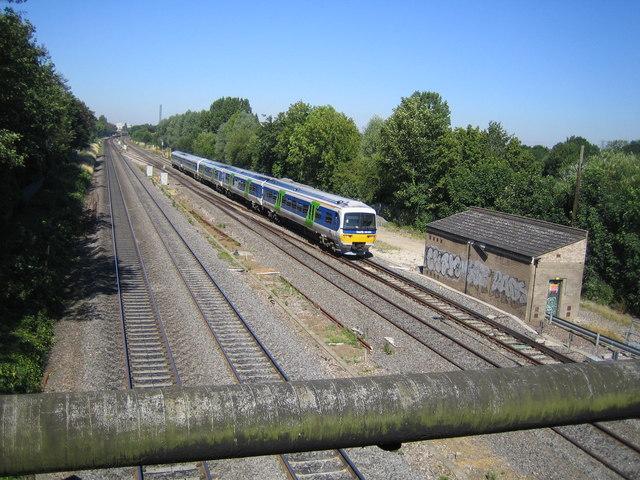 Langley: Main line railway
