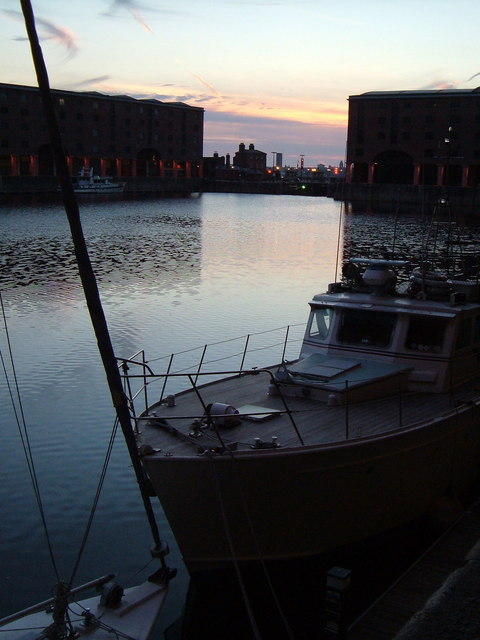 Sunset at Albert Dock