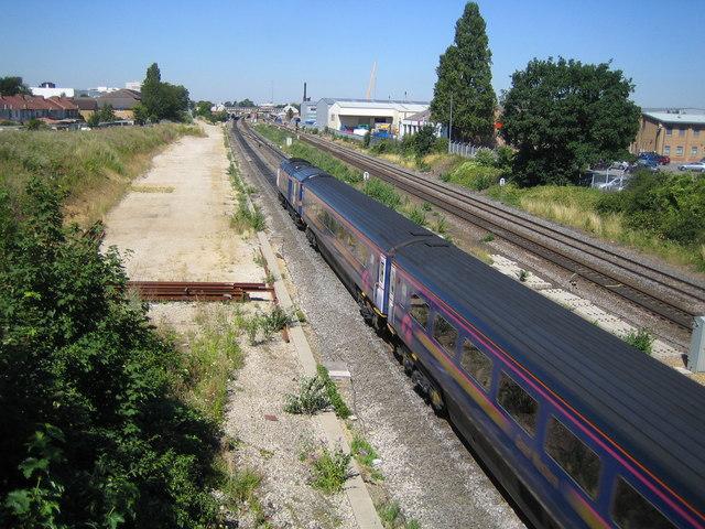 Slough: Main line railway