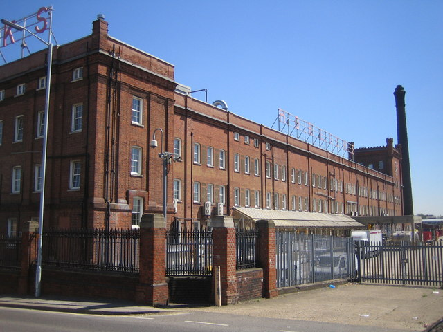 Slough: The Horlicks factory