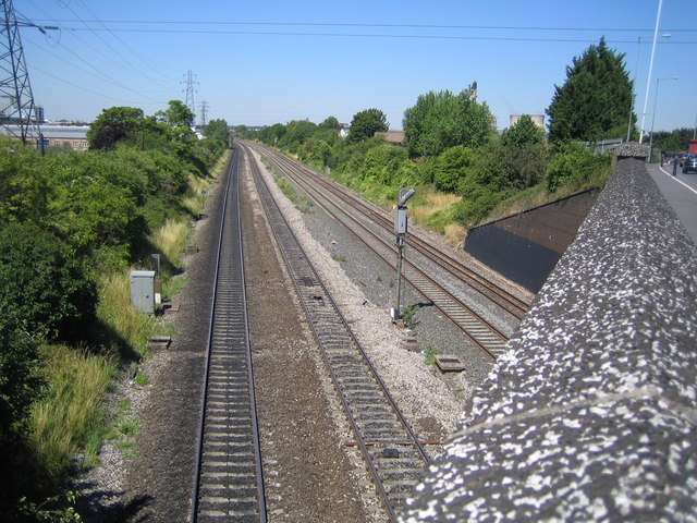 Slough: Main line railway