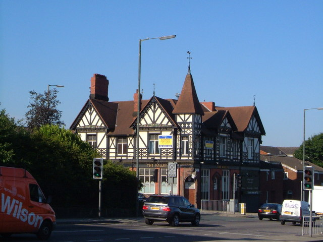 The Valley pub, Everton