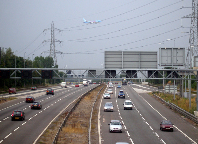 South of  M42 Junction 6