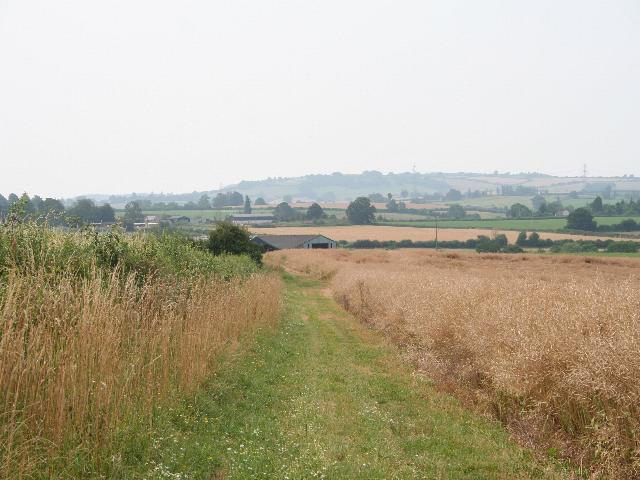 Footpath to Trehumfrey Farm